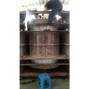 电厂给水泵电机定子绕组换线YKS1000-4 11000KW
