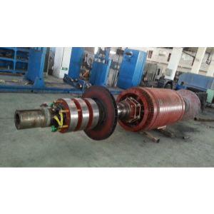 高压电机转子更换滑环、做动平衡检测4000KW