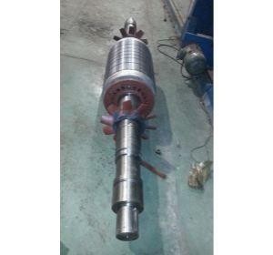 电机转子加工、2.更换轴、做动平衡(YK2500-2 2500KW
